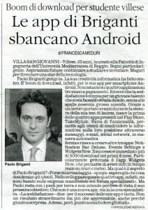 Articolo pubblicato sul Quotidiano il 6 Maggio 2013